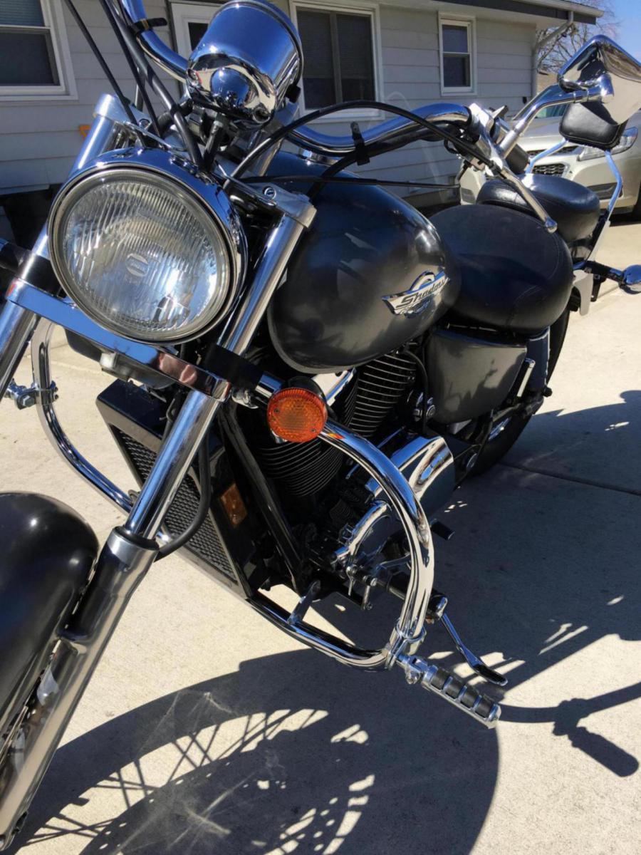 Headlight Mods Adding A Daymaker Vt1100c2 Honda Shadow Forums