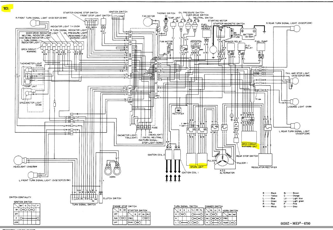 [ZHKZ_3066]  1983 VT750C ICU location (Ignition Control Unit)   Honda Shadow Forums   Vt 750 Wiring Diagram      Honda Shadow Forums
