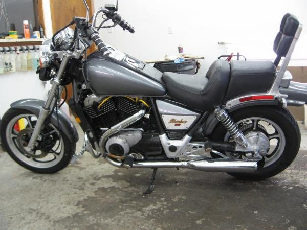 Showcase cover image for gsteele's 1986 Honda Shadow VT1100c