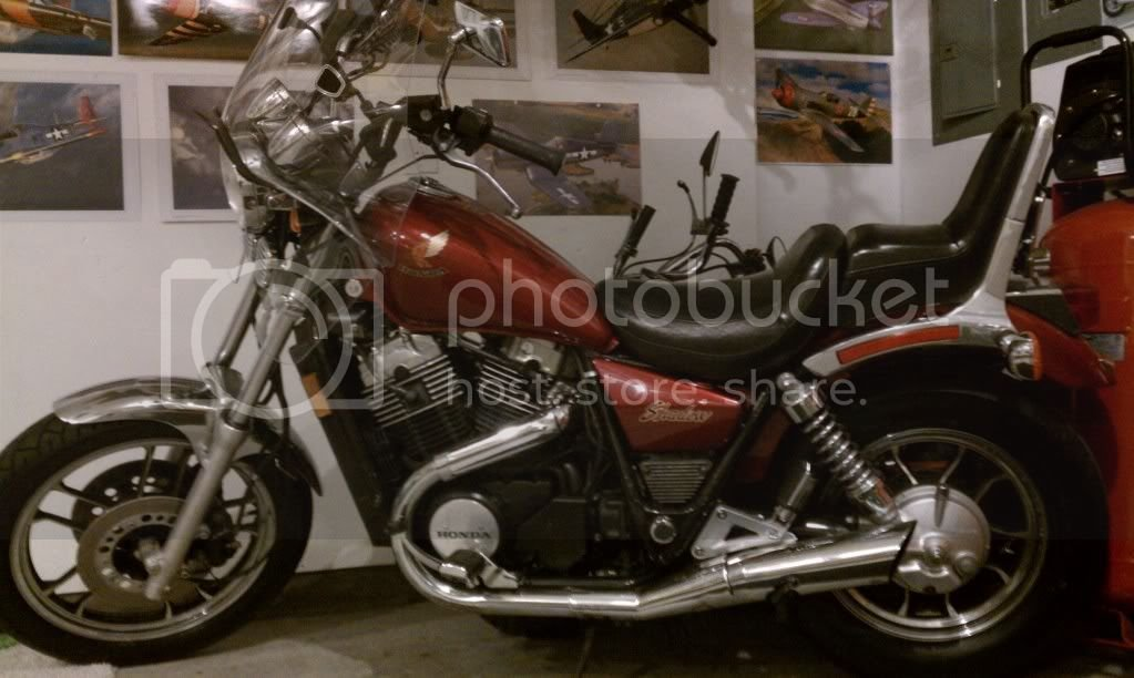 85 Shadow 700 lack of power and fuel flow issue | Honda