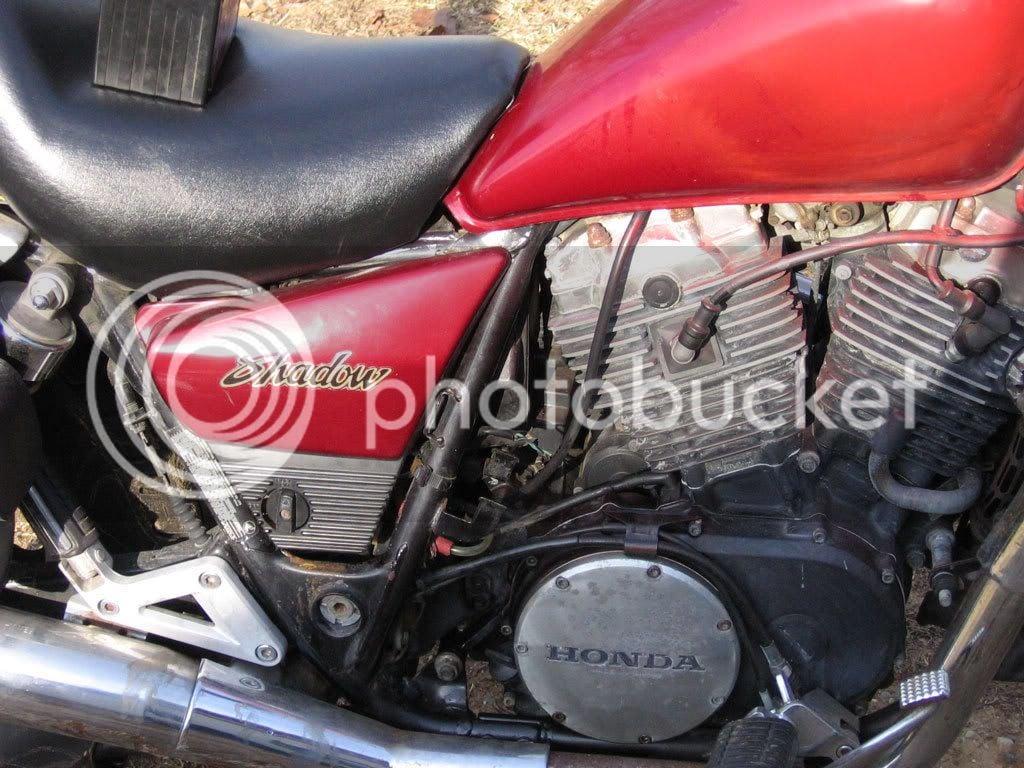 80s Honda Shadow Fuel Pump Replacement (Pics) | Honda Shadow