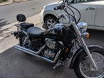 Ajasil's 1998 Honda Shadow ACE VT750