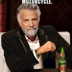 i dont always ride