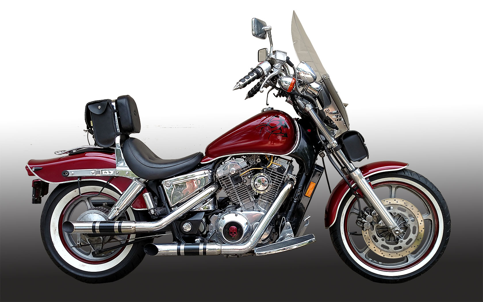 Loss of power at wide open throttle-1984 shadow 500 - Honda Shadow